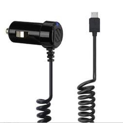 3 Pack Scosche StrikeDrive 12W Micro-USB Fast Car Charger fo