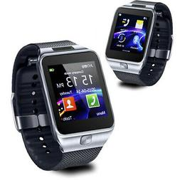NEW Bluetooth Smartwatch Touch Screen Pedometer Built-in Cam