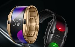 "Brand New ZTE Nubia Alpha 4"" Flexible CurvedScreen Wrist Mob"