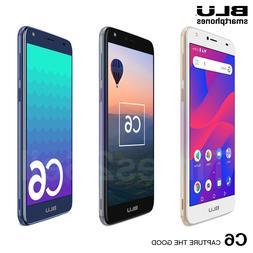 "BLU C6 C031P 16GB 5.5"" HD 8MP Android Oreo Factory Unlocked"