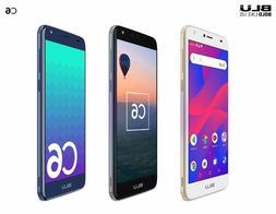 Blu C6 Unlocked Cell Phone 5.5'' Display 16GB/1GB ROM Androi