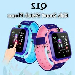 For Childre Kids Smart Watch Phone With GPS GSM Locator Touc