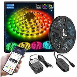 DreamColor LED Strip Lights, Smart Music Sync Phone App Cont