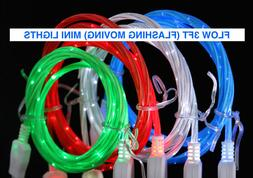 FLOW LIGHT-UP 3FT LED USB charger cable FOR Apple iPhone 8 7