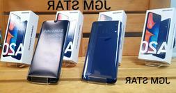 SAMSUNG GALAXY A20 32GB  BLUE FACT UNLOCKED 6.4 INCH LCD NEW