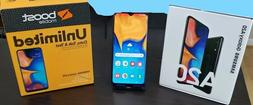 Samsung Galaxy A20 32GB Smartphone Boost Mobile With Free 1s