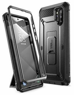 For Galaxy Note 10 Plus Rugged Holster Kickstand Case Built