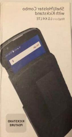 Verizon Hardshell Case and Belt Holster Combo for LG K4 LTE