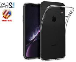 iPhone Ten XR Case Spigen Liquid TPU Slim Lightweight New Cr