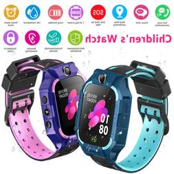 Kids Anti-lost Safe GPS Tracker SOS Call GSM Smart Watch Pho