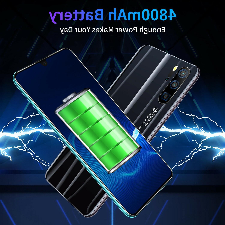 3G 9.1 Smart Phones Face ID Dual SIM Cameras 6G+128G 4800