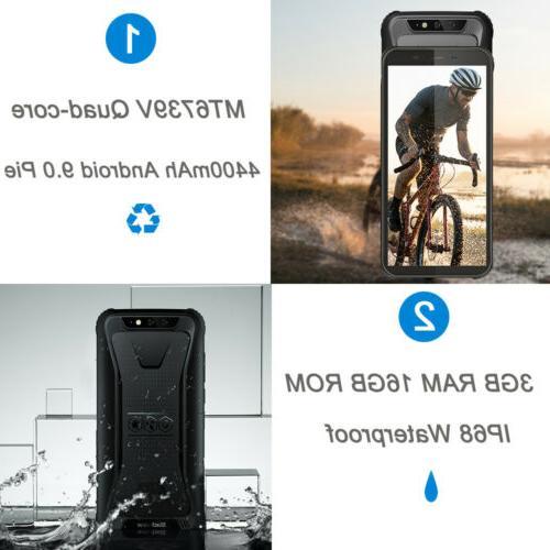 "5.5"" Blackview BV5500 3GB+16GB Waterproof Smartphone Android 9.0"
