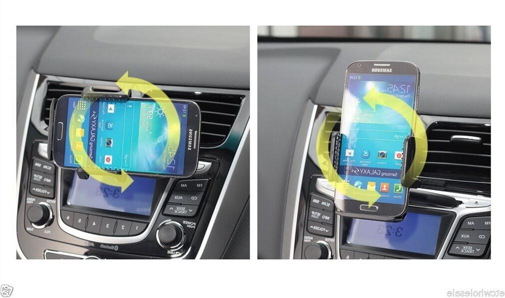 Car CD Mount Bracket Holder for Galaxy S5 S6 + S8+ Cell Phone