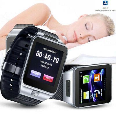 bluetooth touch screen smart watch built in