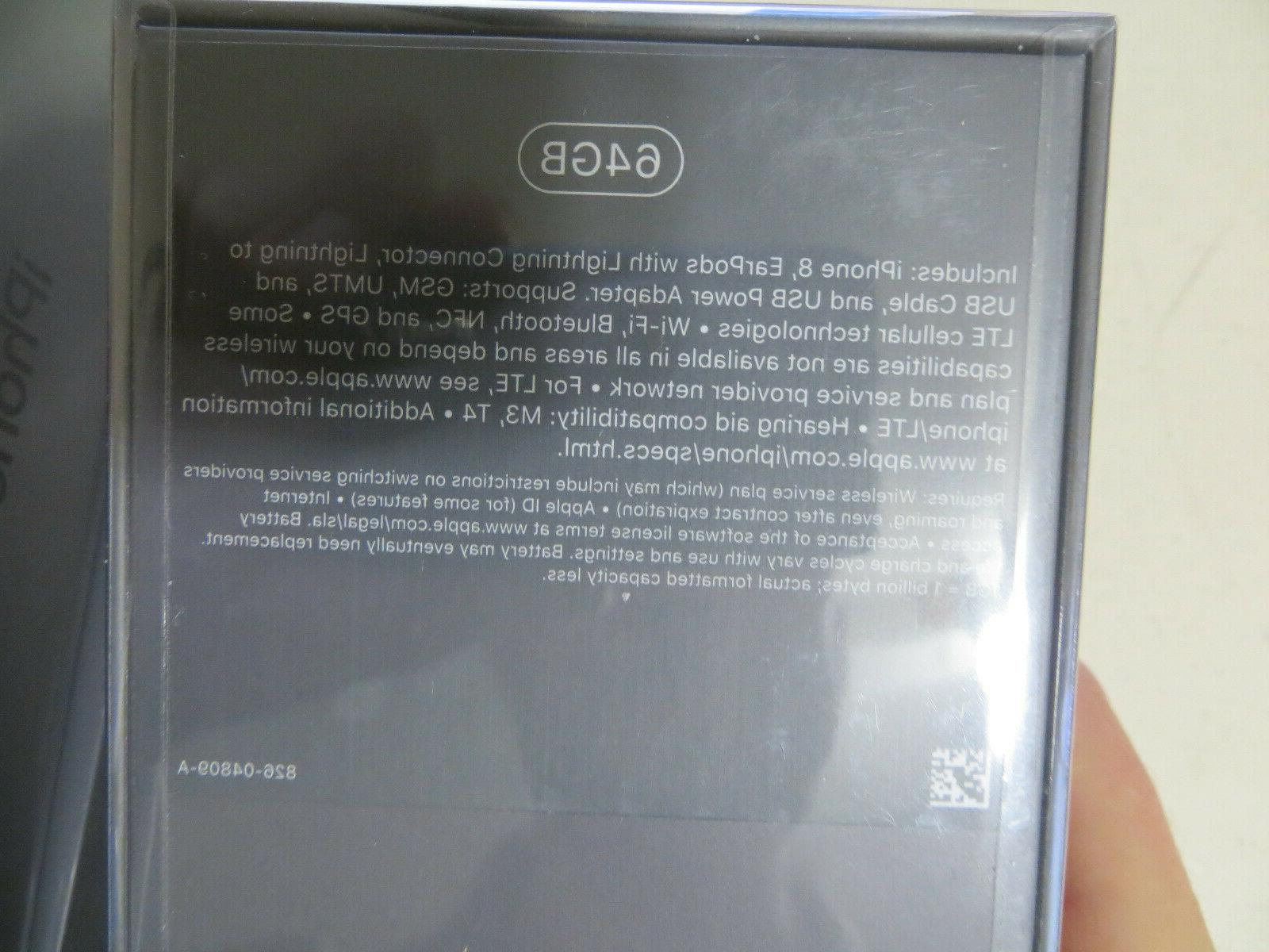 NEW SEALED Apple 8 Silver AT&T/CRICKET 1