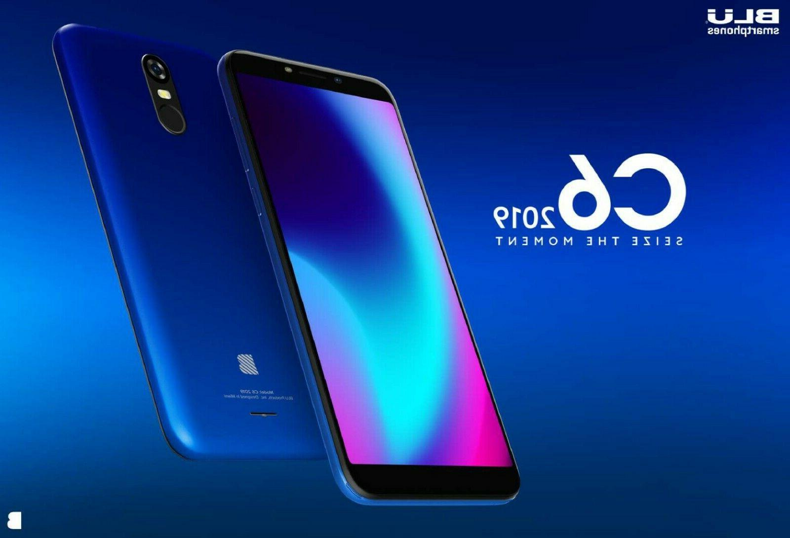 Blu C6 Unlocked Cell Phone 16GB/1GB ROOM Oreo