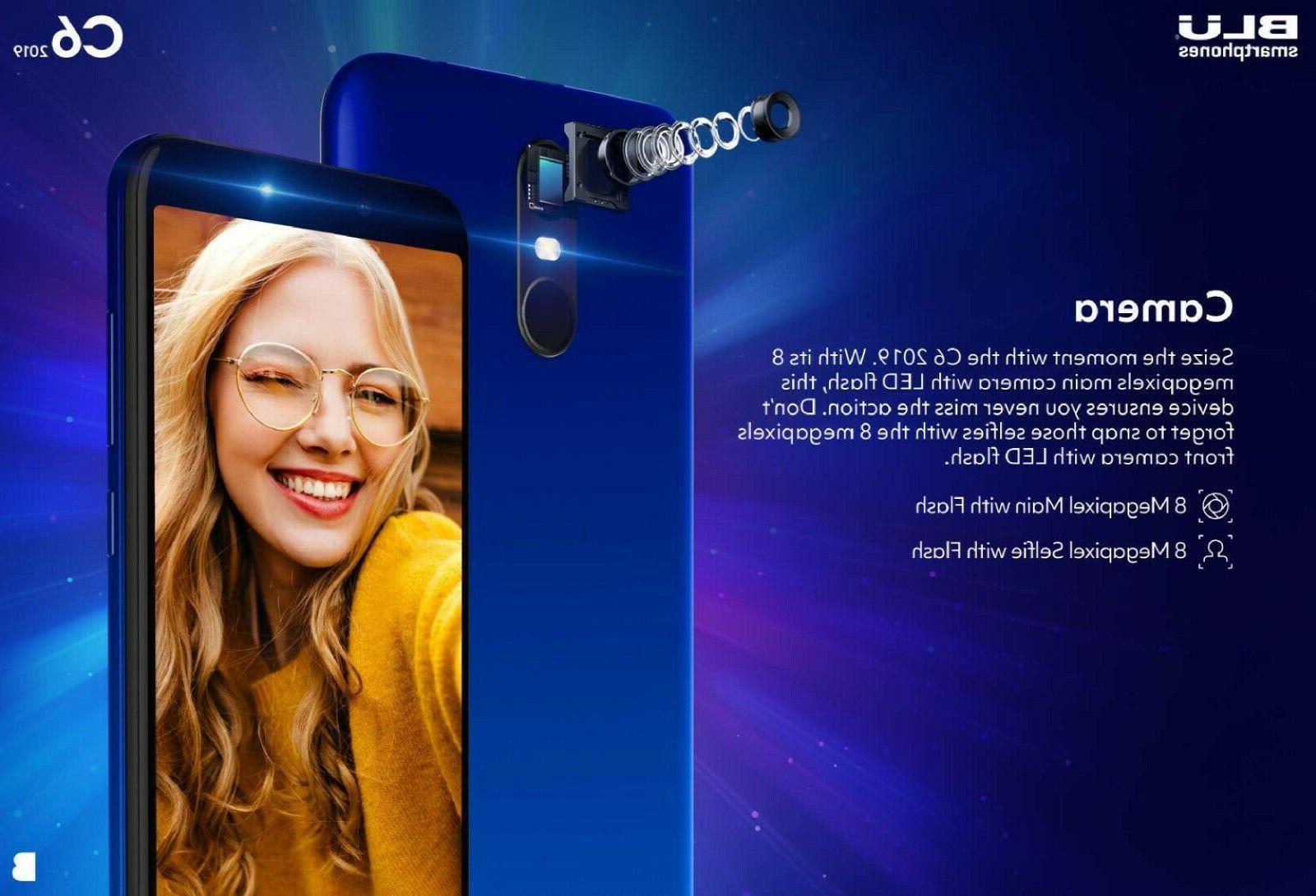 Blu Cell Phone 16GB/1GB ROOM Oreo