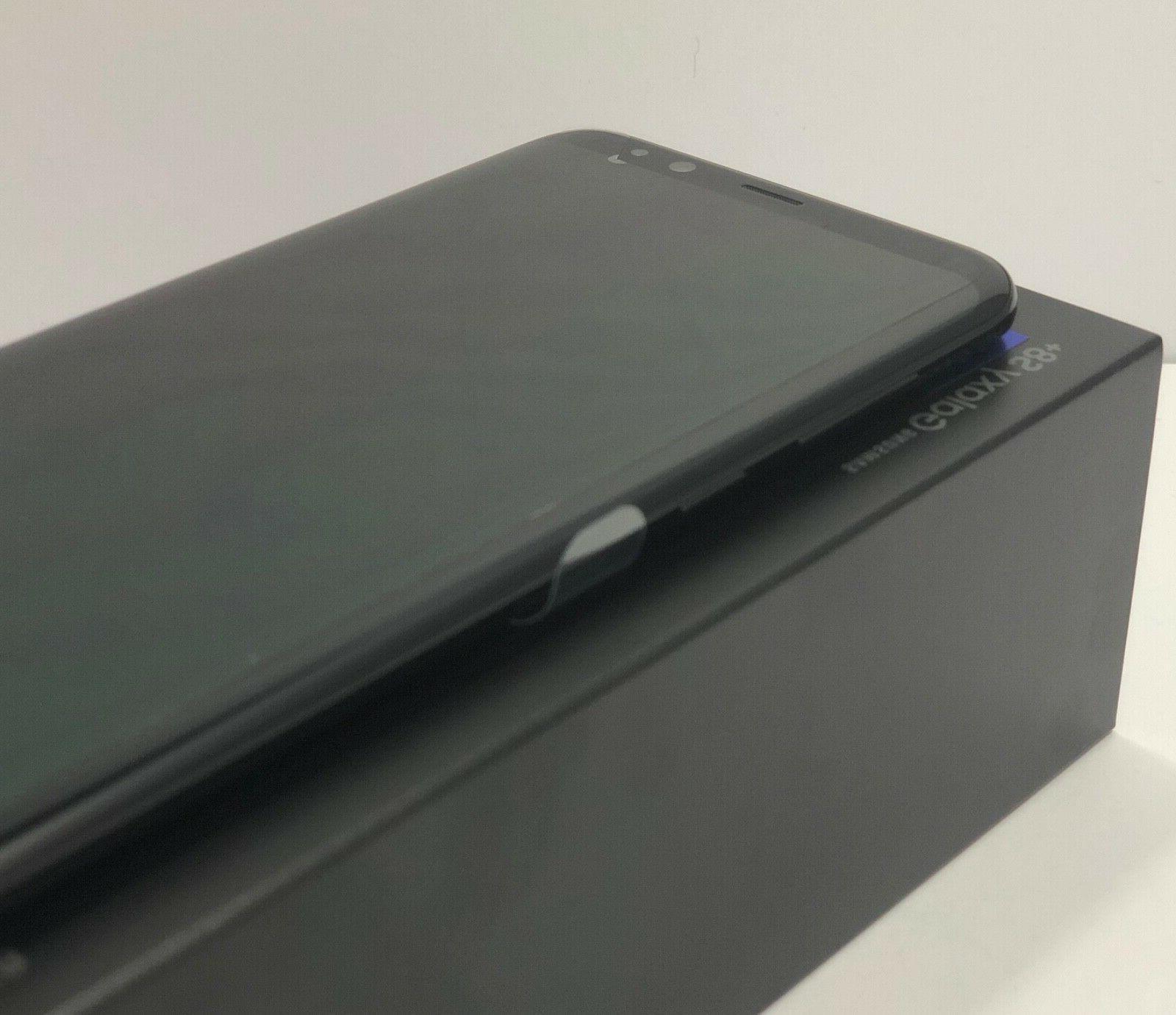 SAMSUNG GALAXY S8+PLUS SM-G955U1 BLACK SELECT