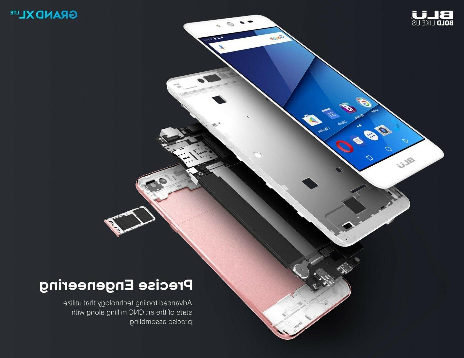 "BLU -5.5"" HD Unlocked Android Smartphone Main Camera"