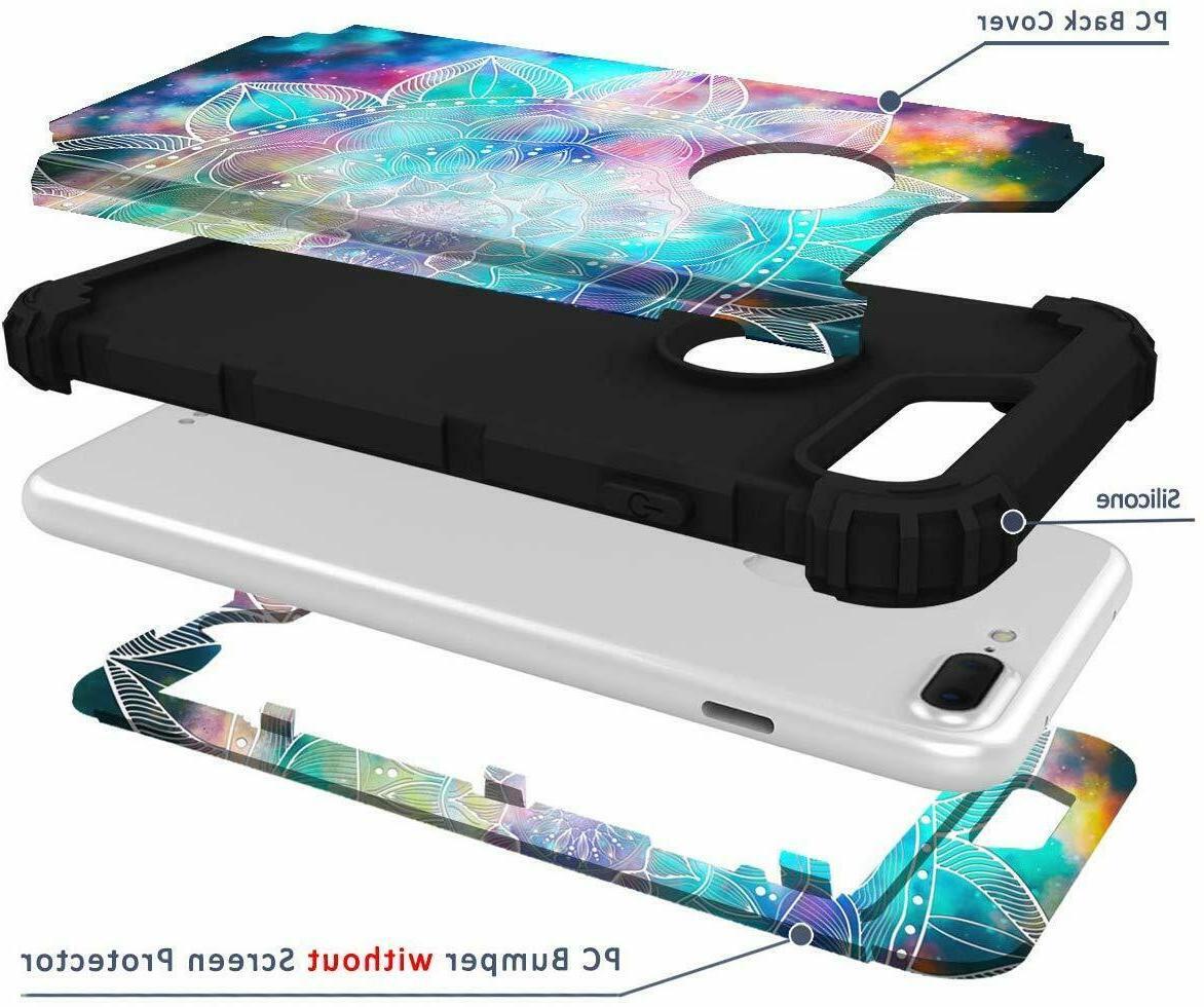 For iPhone7 Plus Full Body Hybrid Dual