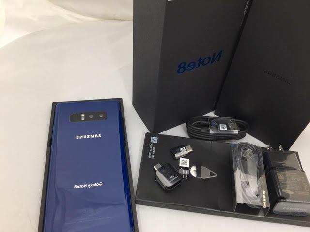 New Samsung Note8 - N950U- 64GB Smartphone ON