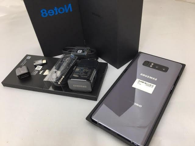 New Samsung Note8 64GB ON