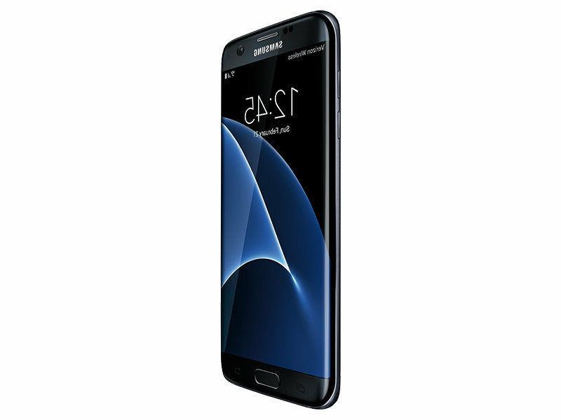 NEW Samsung Galaxy Edge SM-G935V Black Smartphone