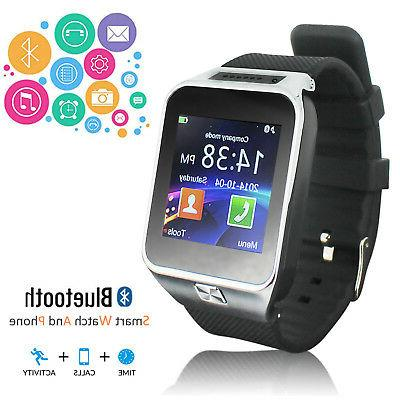 stylish android os smartwatch and gsm unlocked