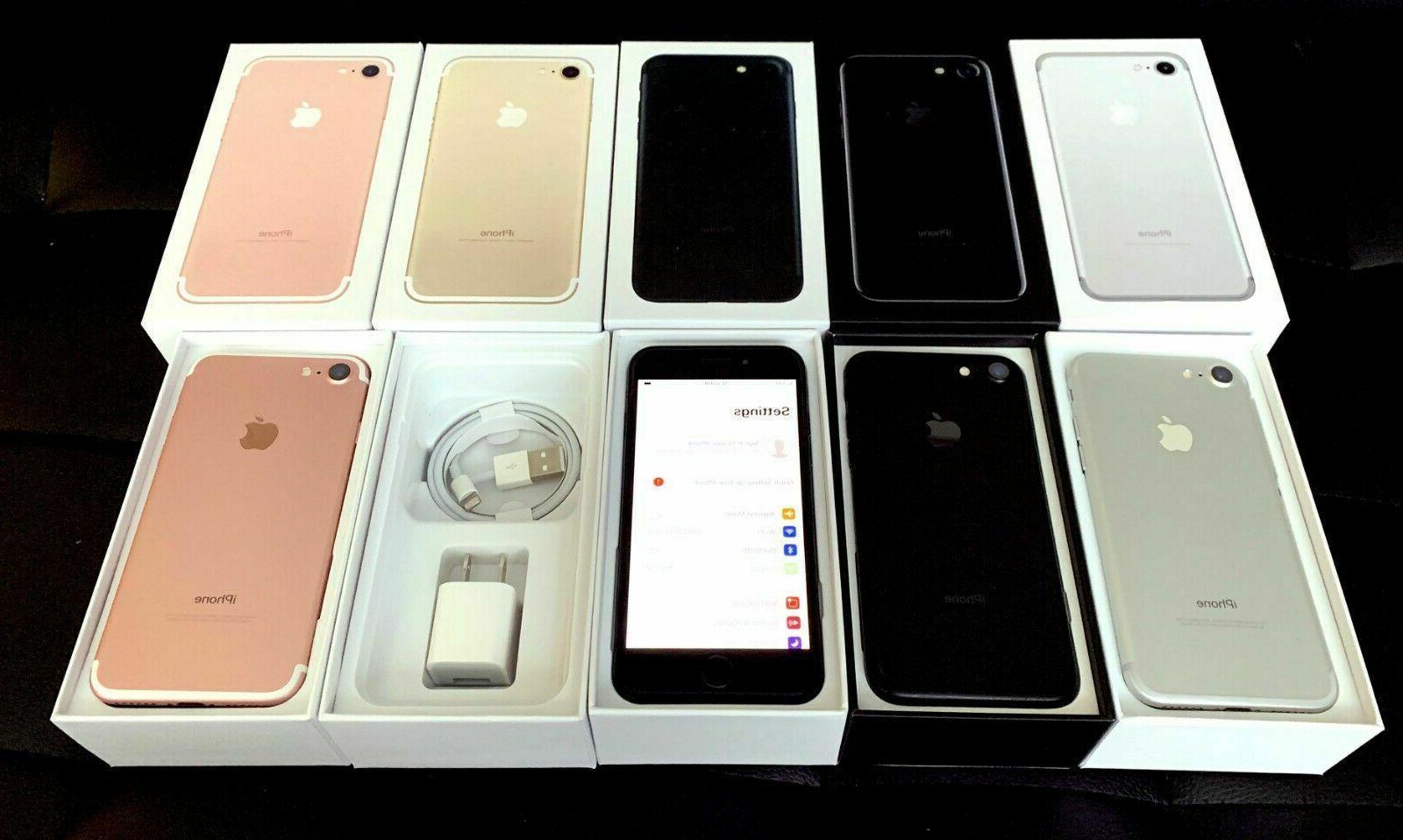NEW UNUSED Unlocked🔥 Apple 7 AT&T Verizon Sprint