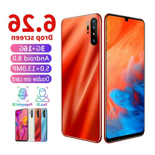 P30 PRO Under Screen/Face Unlocked 6.3'' Android 8.0 Dual SI