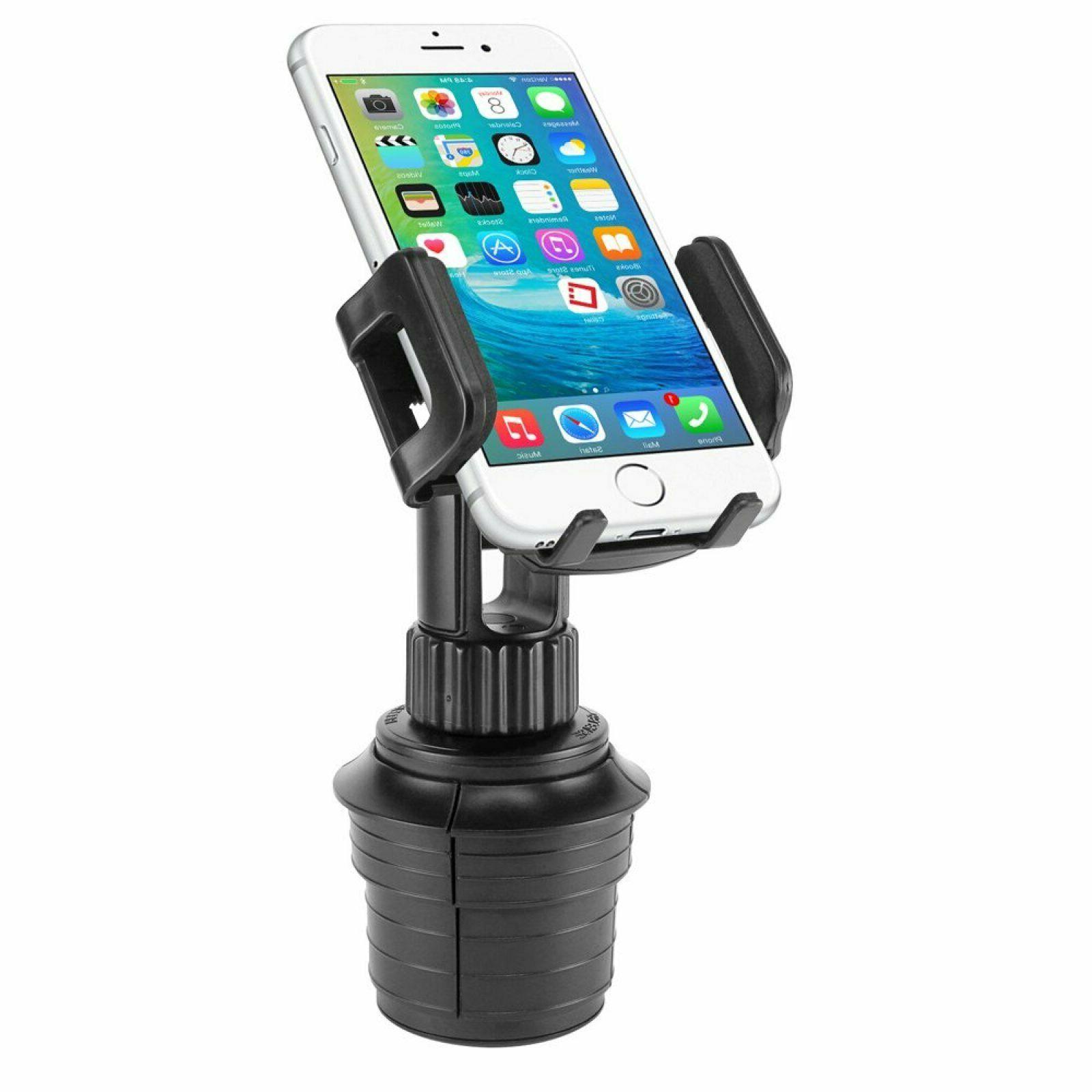 Cellet PH600 Car Cup Holder Mount Adjustable Phone Cradle For XR