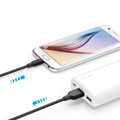 Anker Charging Cable Android Smartphones Samsung