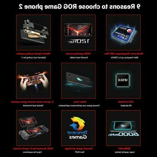 Asus Phone Gaming RAM 128GB GSM T-mobile 6000mAh