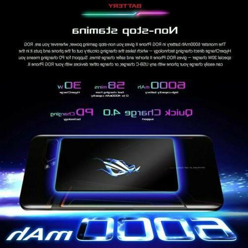 Asus ROG Phone Gaming GSM AT&T Smartphone 6000mAh