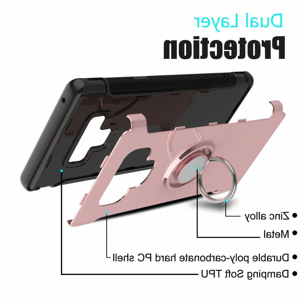 Samsung Note Case Hybrid Shockproof Magnetic