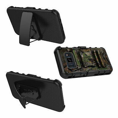 Samsung S8 Case Holster Shockproof Swivel Clip