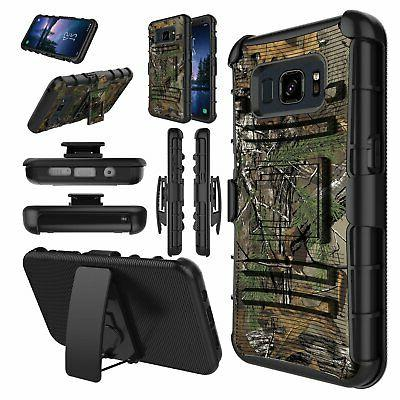 samsung galaxy s8 active case holster dual
