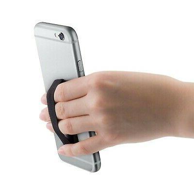 kwmobile Smartphone Finger Grip, of 3 - Holder Strap for