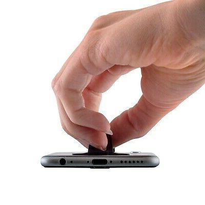 kwmobile Smartphone Elastic Slim Finger - Holder Strap