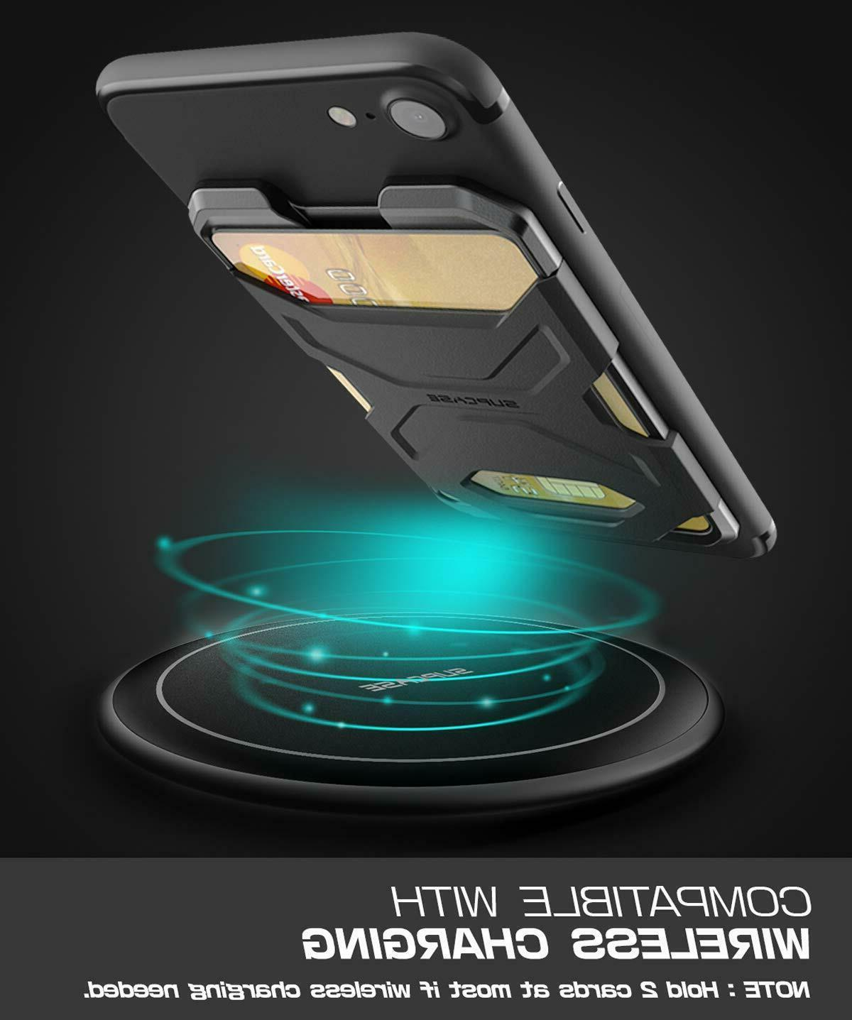 SUPCASE Smartphone Wallet Case Silicone Card Sticker Ultra Thin