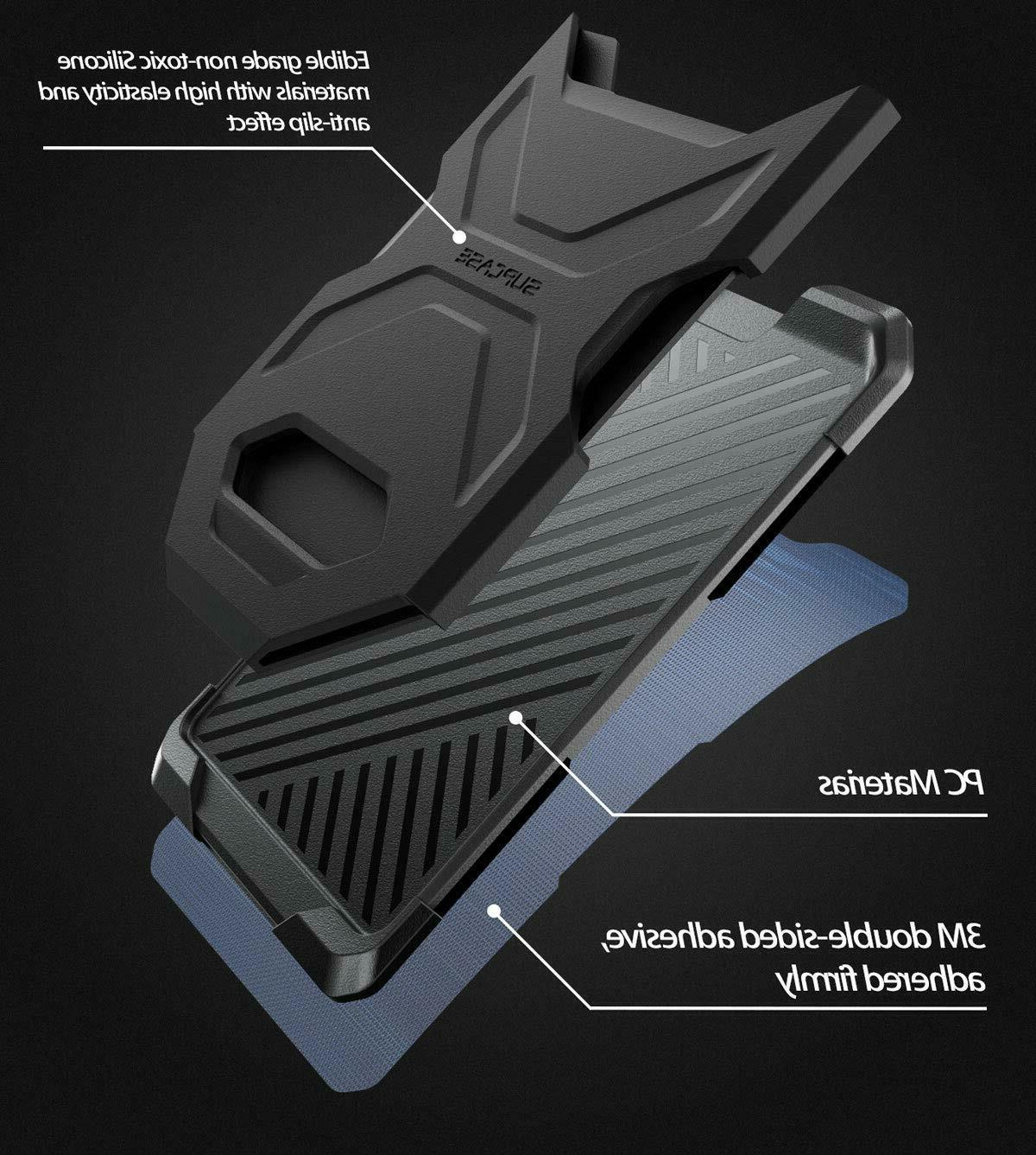 SUPCASE Wallet Silicone Card Sticker Ultra Thin