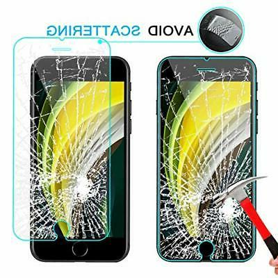 Tempered iPhone 2020 7 8 Protector Anti-Scratch 3D