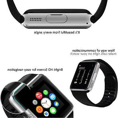 2-in-1 GSM SmartWatch AT&T T-mobile Unlocked!