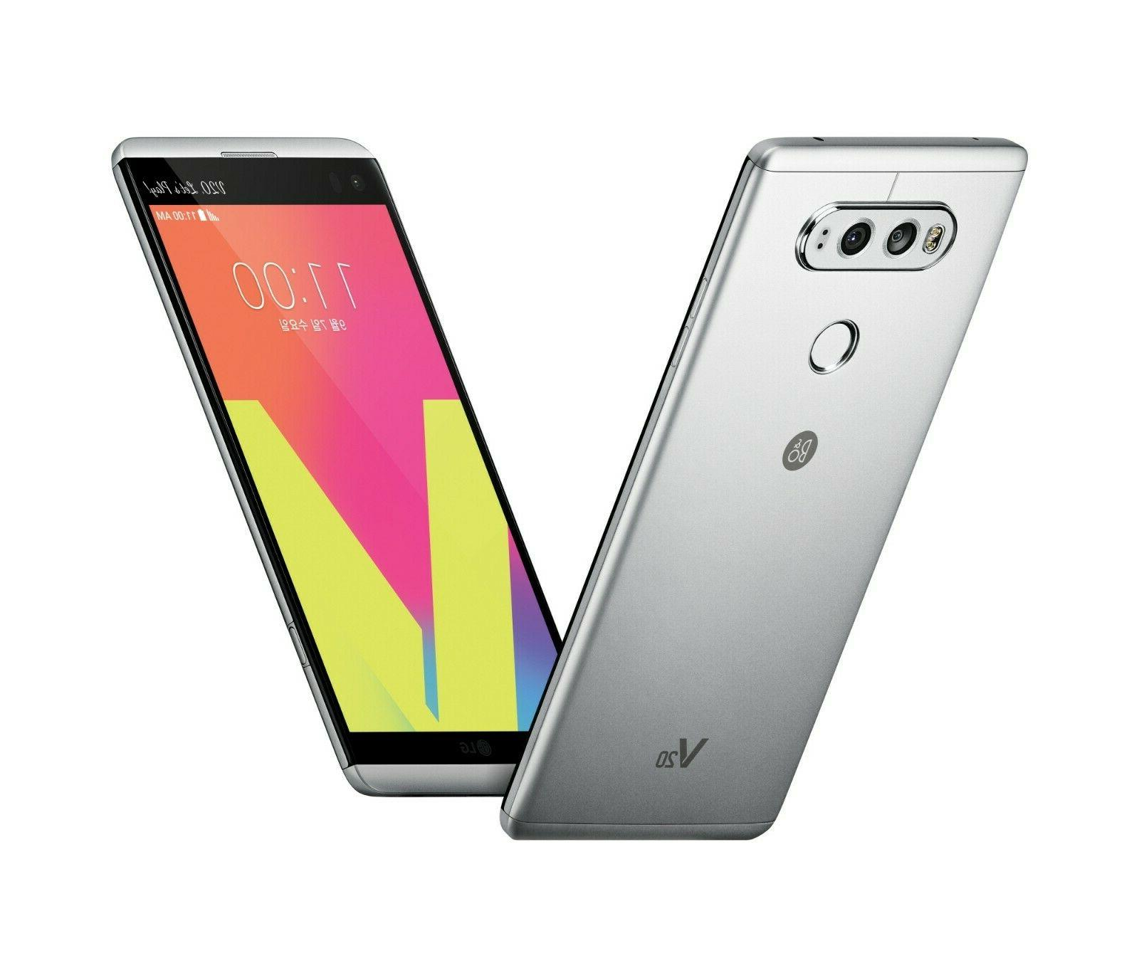 LG V20 - 64GB - LTE Simply Silver Smartphone