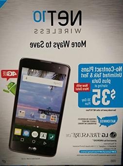 NET10 L51AL Treasure 4G LTE Prepaid Smartphone new
