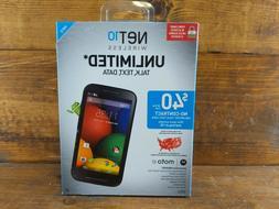 NET10 - Motorola XT830C MOTO E PrePaid Android Smartphone