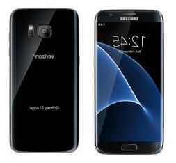 NEW Samsung Galaxy S7 Edge SM-G935V 32GB Verizon Black Unloc