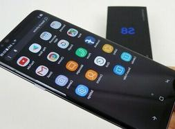 New In Box Samsung Galaxy S8 SM-G950U 64GB Midnight Black fo