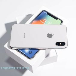 New Apple iPhone X 64GB Silver Gray Factory Unlocked T-Mobil