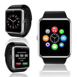 Indigi® New Universal GT8 BT 3.0 Smart Watch & Phone w/ Bui